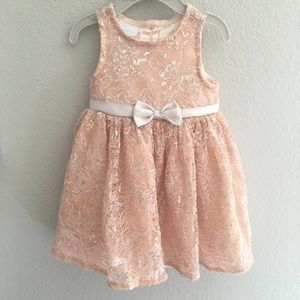 NANNETTE BABY 12 month Occasion Dress with Bow